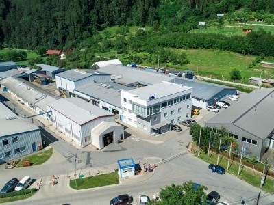 Zábery na areál IMC Slovakia