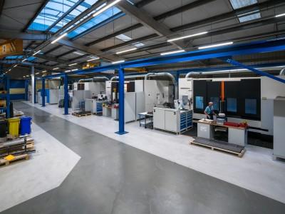 2018, new machine shop