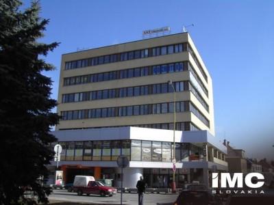 1998, het hoofdkantoor van AKB Slovakia, gehuurde ruimten in het vormalige Agrosana-gebouw