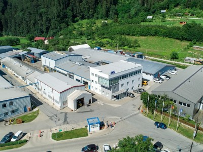 Aufnahmen vom Gelände der IMC Slovakia
