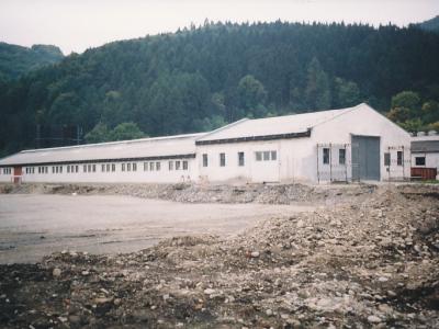 2000, pôvodný areál