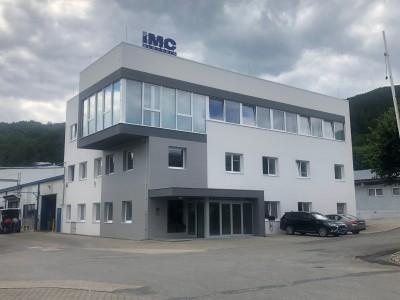 2020, nová administratívna budova